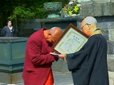 Sri Chinmoy in Japan 1992
