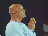 Sri Chinmoy in Prag 1995